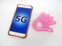 5G μελλοντικές συνδέσεις Στοκ φωτογραφίες με δικαίωμα ελεύθερης χρήσης
