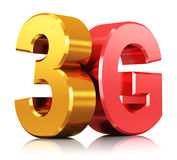 3G λογότυπο ασύρματης τεχνολογίας Διανυσματική απεικόνιση