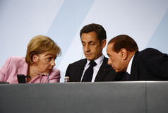 G 20 Preparatory Summit, Berlin stock images