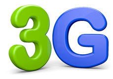 3G stock de ilustración