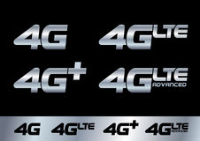 4G Image libre de droits