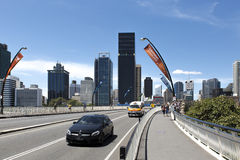 G20 Access Roadway, Brisbane, Australia Royalty Free Stock Photos