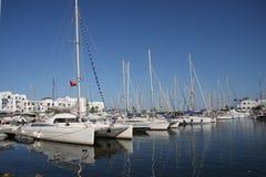 gładka port woda Zdjęcia Royalty Free