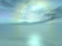 gładkie niebo Fotografia Stock