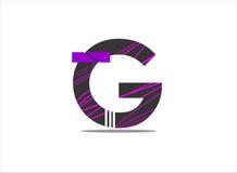 G-alfabet Arkivbild