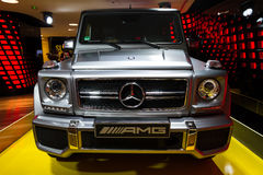 G63 AMG front Royalty Free Stock Image