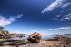głaz brzegowy wielki Pacific Zdjęcie Royalty Free