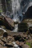 Głaz w Górnych Whitewater spadkach Zdjęcie Royalty Free