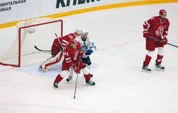 G Berdyukov ( 84) vs A Materukhin (28) Royaltyfri Fotografi