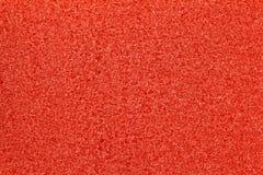 gąbki czerwona tekstura Zdjęcie Royalty Free