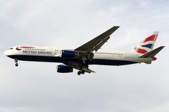 G-BZHA British Airways Боинг 767-300 Стоковые Фото