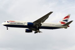 G-BZHA British Airways Boeing 767-300 Stock Foto's
