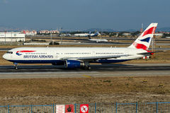 G-BZHA British Airways, Boeing 767-300 Arkivfoto