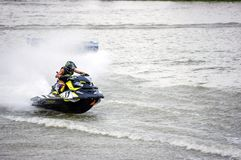 G-chock pro-Jetski turnerar Thailand 2014 Internationa Royaltyfri Fotografi