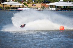 G-chock pro-Jetski turnerar Thailand 2014 Internationa Arkivbild