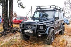 G-clase de Mercedes-Benz W463 Imagen de archivo libre de regalías