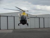 G-CMBS - unidad del apoyo aéreo de la policía de Cambridgeshire Imagenes de archivo