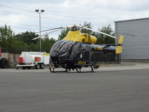 G-CMBS - unité d'appui aérien de la police de Cambridgeshire Photographie stock