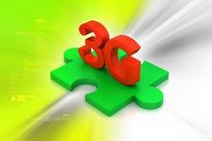 3G, conceito do Internet Imagens de Stock