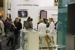 G Data on Cebit 2010. In Hannover, Germany Royalty Free Stock Image