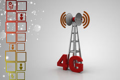 3G digital cellular telecommunication technology Royalty Free Stock Images
