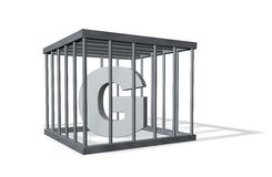 g duży więzienie Zdjęcia Royalty Free