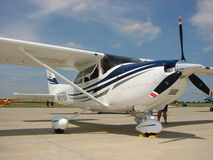 2005 G1000 equipped Cessna 182T. Royalty Free Stock Images
