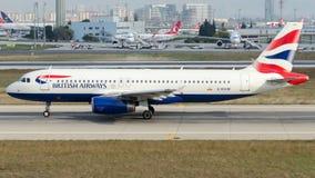 G-EUUM British Airways, Airbus A320-232 Stock Images