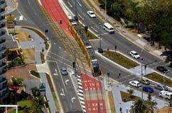 G för Gold Coast ljusstång - Queensland Australien Royaltyfria Bilder