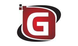 G för initial för teknologirörelsesynergi Royaltyfria Bilder