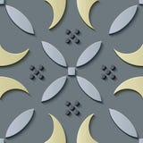 G för kors för kurva för modell för sömlös lättnadsskulpturgarnering retro royaltyfri illustrationer