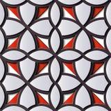 G för kors för kurva för modell för sömlös lättnadsskulpturgarnering retro vektor illustrationer