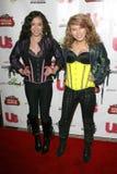 """G-flickor på """"berömmen till Grammy kandidat den Grammy för stolpe deltagaren. Privat läge, Beverly Hills, CA. 02-08-09 Royaltyfria Bilder"""