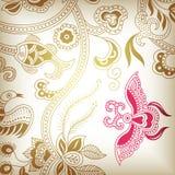 G floreale astratto royalty illustrazione gratis