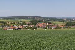 G�gglbach in Summer. The bavarian village G�gglbach near Schwandorf in summer Royalty Free Stock Photography