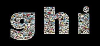 G, h und i literas - Collage der Reisenfotos Lizenzfreie Stockbilder