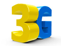 3G icon isometry stock illustration