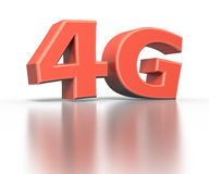 4G icon. Wireless communication concept Royalty Free Stock Image