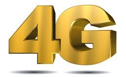 4G illustratie Royalty-vrije Stock Afbeeldingen