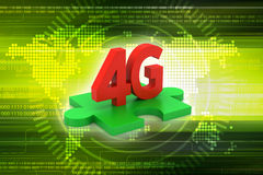 4G, internet concept Stock Images