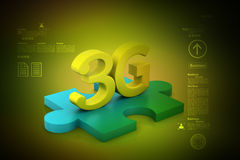 3G, internet concept Royalty Free Stock Photography