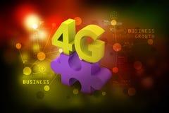 4G, internet concept Stock Image