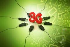 3G, internet concept Royalty Free Stock Photos