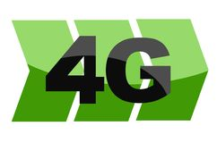4 G - Internet-technologiesymbool - Internet-technologie Royalty-vrije Stock Foto's