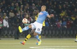Gökhan Inle rYoung Boys Berne v FC Naples Liga Europa Stock Photo