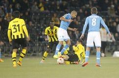 Gökhan Inler Young Boys Berne v FC Naples Liga Europa Royalty Free Stock Image