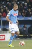 Gökhan Inler Young Boys Berne v FC Naples Liga Europa Royalty Free Stock Images