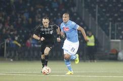 Gökhan Inler Young Boys Berne v FC Naples Liga Europa Royalty Free Stock Photo