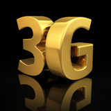 3G letters Stock Photo