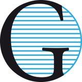 G-logo Royaltyfri Fotografi